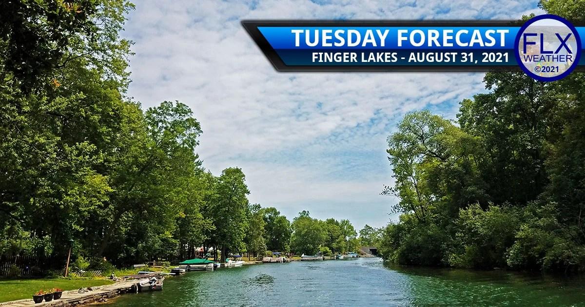 finger lakes weather forecast tuesday august 31 2021 dry air hurricane ida rain