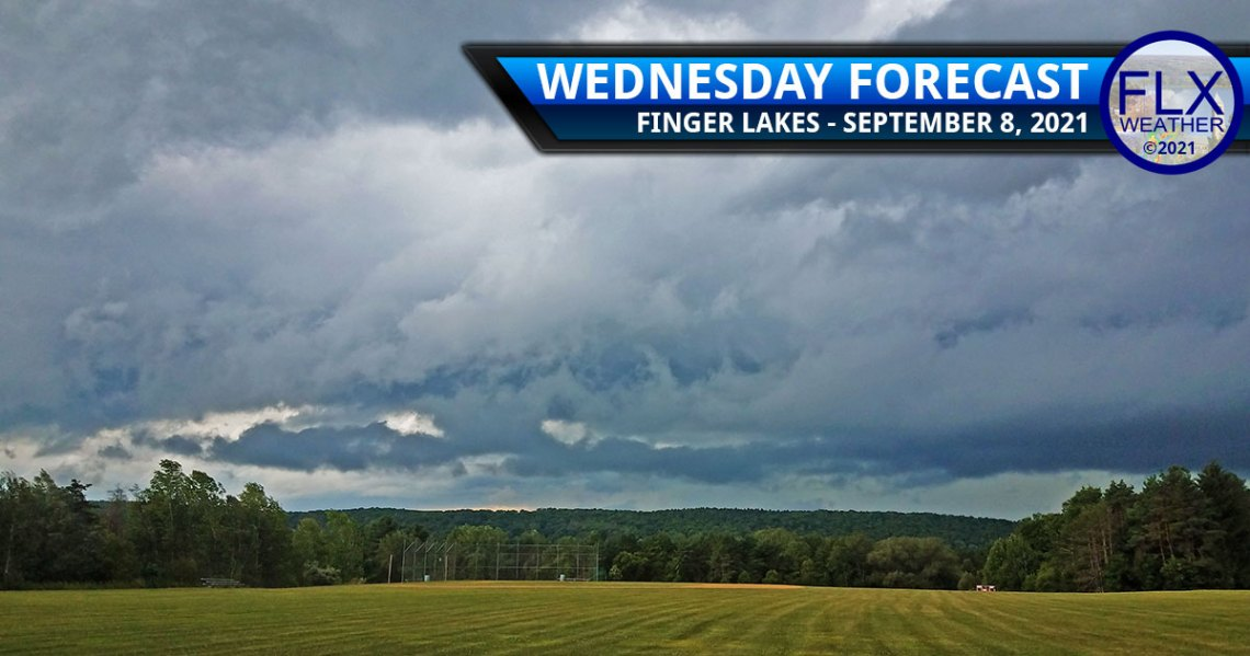 finger lakes weather forecast wednesday september 8 2021 showers rain thunderstorms cold front