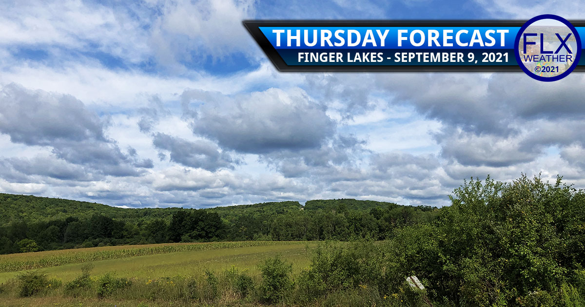 finger lakes weather forecast thursday september 9 2021 sun clouds showers lake effect
