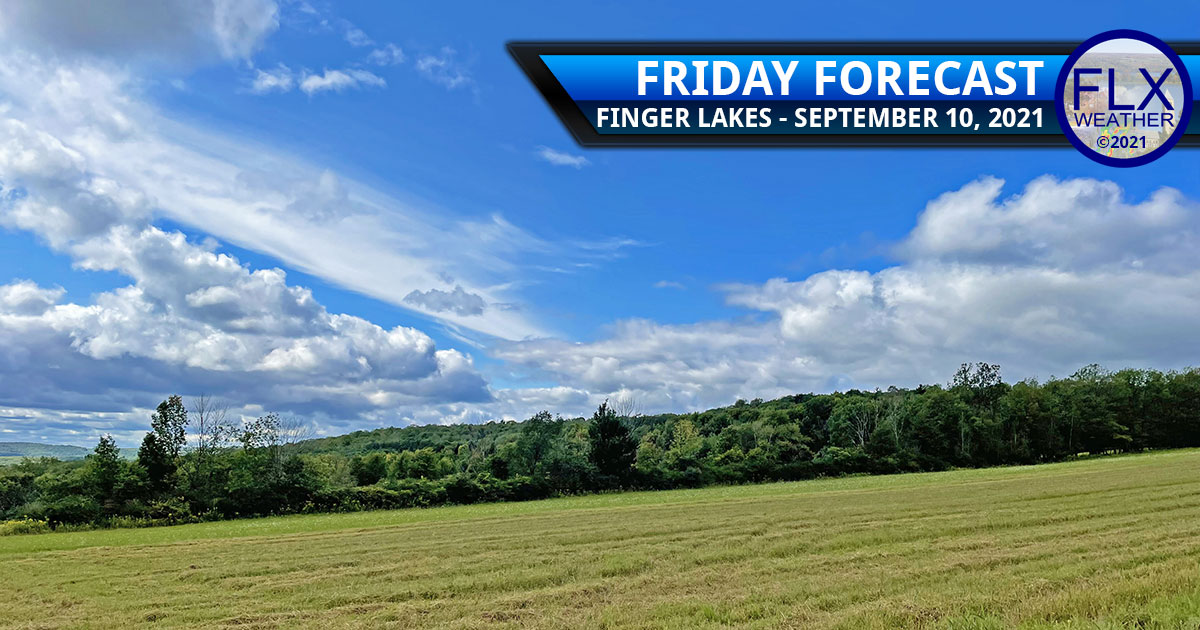 finger lakes weather forecast friday september 10 2021 sun clouds showers weekend