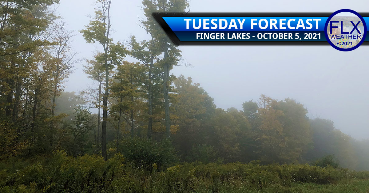 finger lakes weather forecast tuesday october 5 2021 clouds fog drizzle