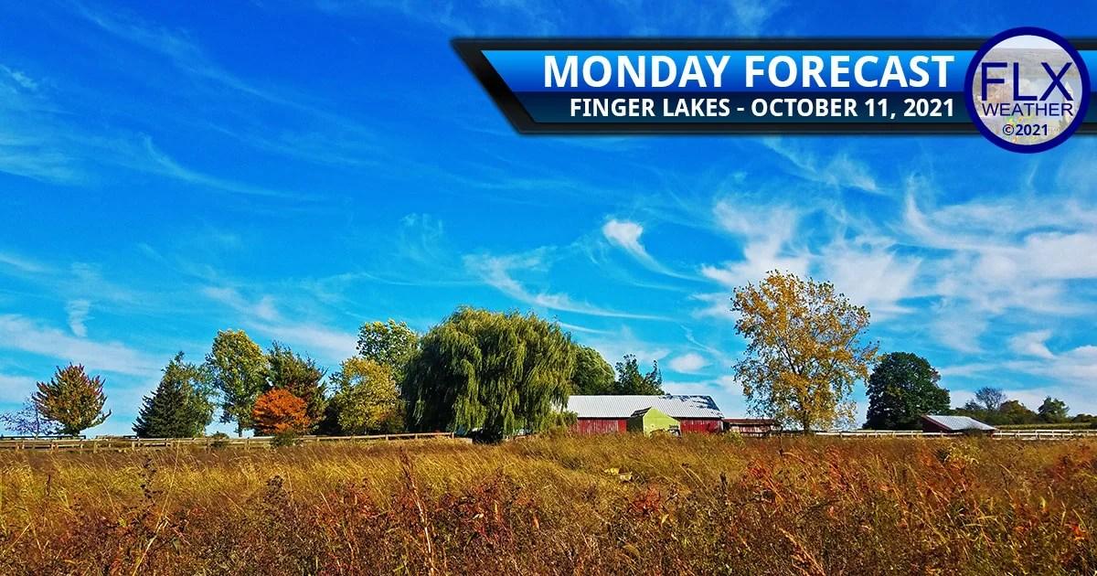 finger lakes weather forecast monday october 11 2021 sunny warm