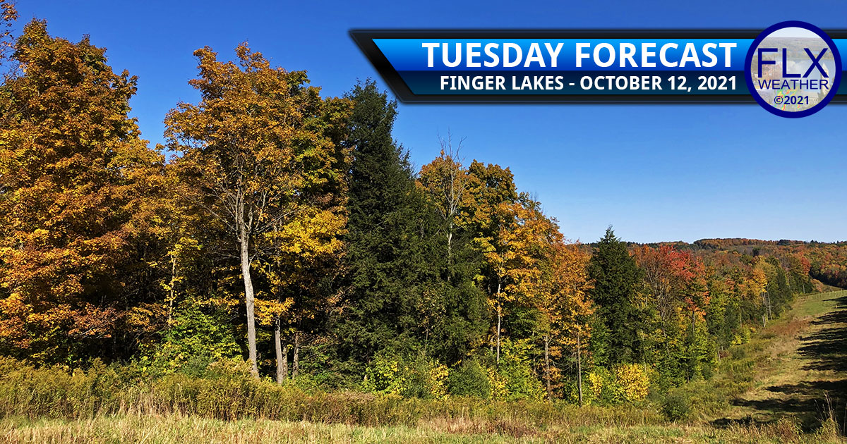 finger lakes weather forecast tuesday october 12 2021 sunny warm