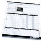 A5 VFR Pilot Log Pad (50 Page Plog) — 3 Pack
