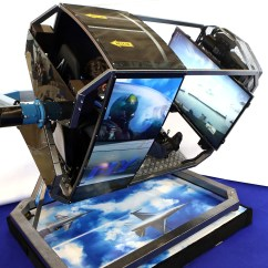 Flight Simulator Chair Motion Espresso Dining About Fly 360
