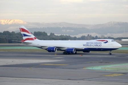 Boeing 747-8F de British Airways