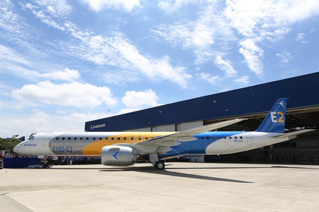 Resultado de imagen para Embraer E195 E2