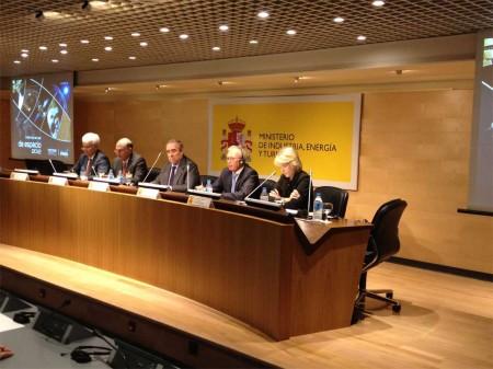 ProEspacio presentó los resultados sectoriales de 2012 en el ministerio de Industria