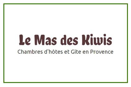 Le Mas des kiwis chambre dhôtes et gite 84