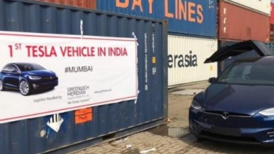 Photo of Tesla Model X Spotted in India for the first time