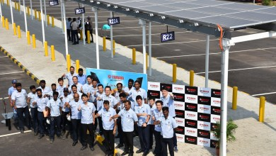 Photo of Yamaha commissions 1100 KW Solar Power Plant at its Surajpur and Chennai Facilities