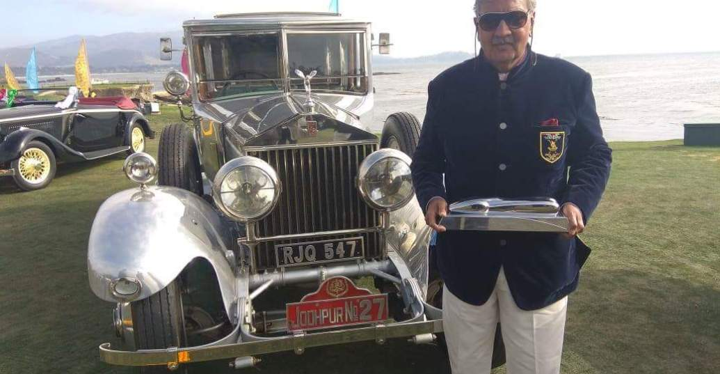 1927 Rolls- Royce Phantom II from India wins the 'Best Motor Cars of