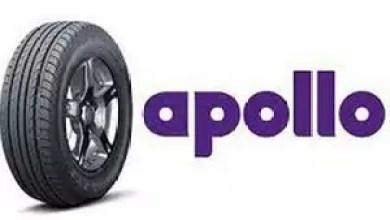 Photo of Apollo Tyres' second quarter sales up 23%