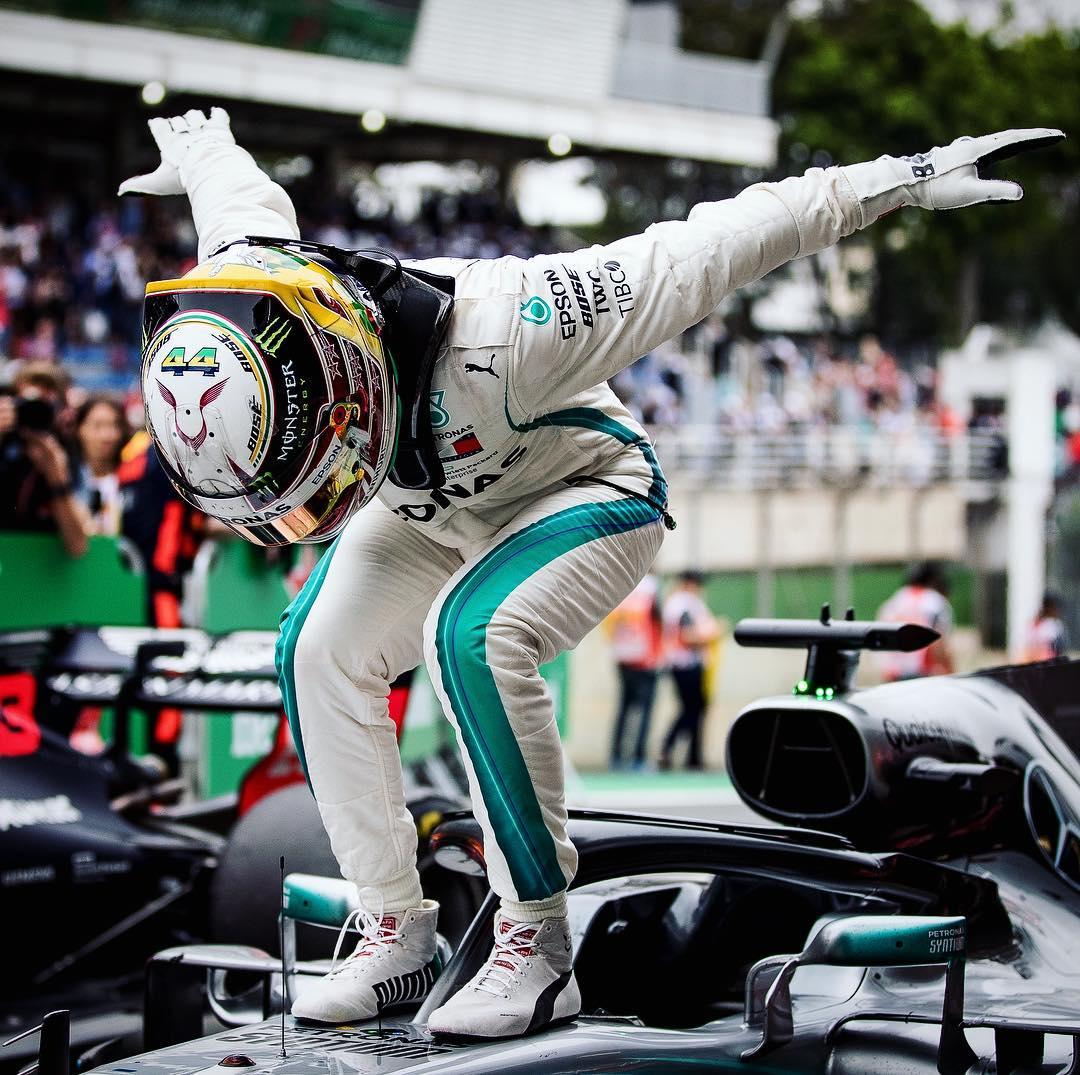 Hamilton Wins The Brazilian GP