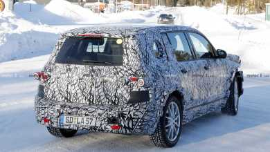Photo of Fourth coming Mercedes Benz GLB suv, with more of a boxy design.