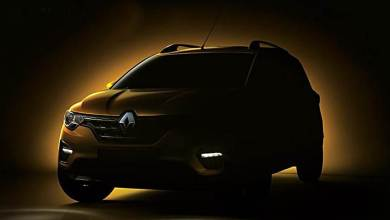 Photo of Renault Triber teased ahead of its launch on June 19.