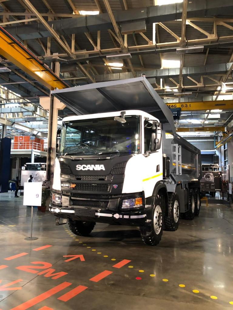 Scania launches the new G 440XT Trucks in India  - Flywheel