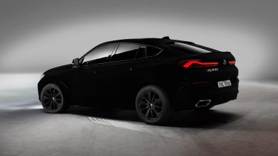 Photo of The new BMW X6 will be the World's first vehicle in VANTABLACK® shade