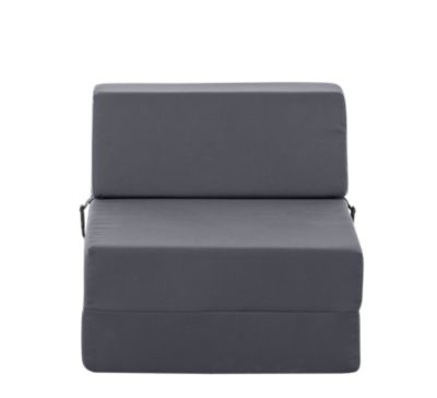 Chauffeuse 1 Place Tissu Gris Anthracite Fly