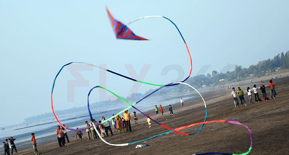 Stunt Kites flying
