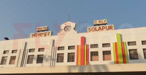 Solapur railway station fly360 - kite festival