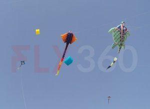 Big inflatable kites - FLY360 - kite festival