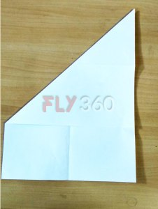 Step 2 cut out square portion DIY kite FLY360