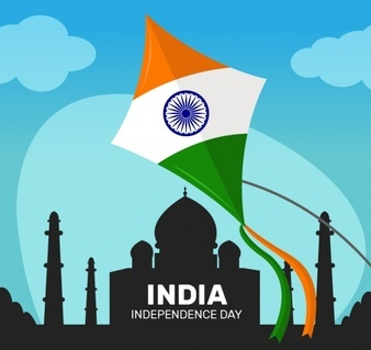 indiann kite independence day