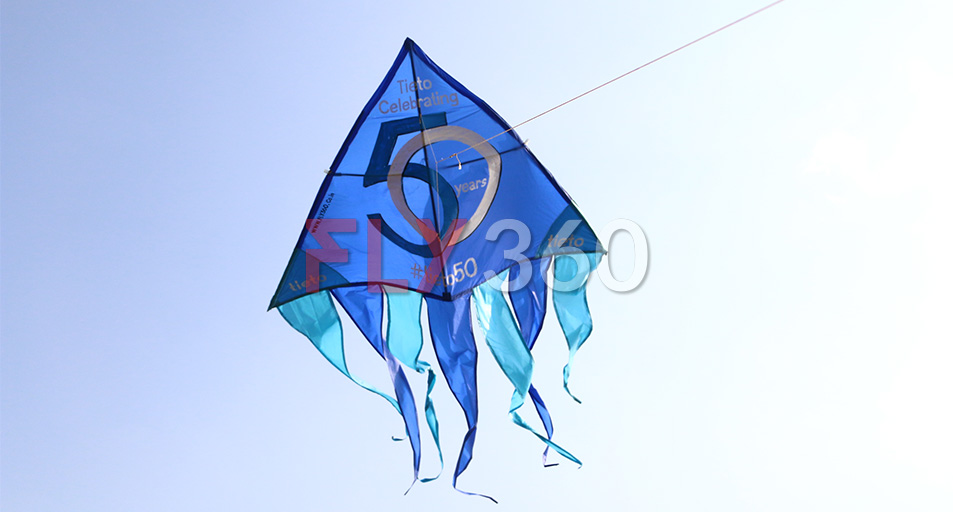 Kite as marketing tool