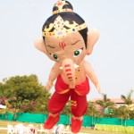 Ganesh Kite 3D Inflatable kite FLY360 Ganapati kite