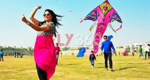 kite flying in celebrations