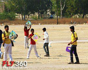 kite fighting