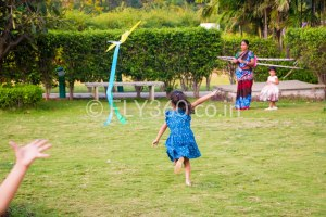 kid fly kite