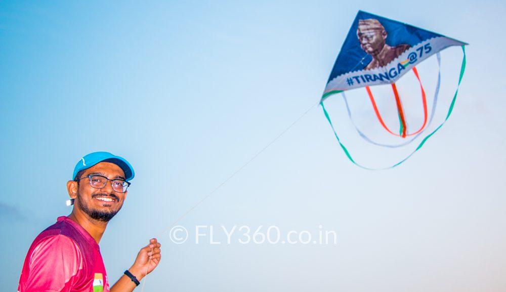 Delta shape kite - Narendra modi | Andaman and nicobar islands