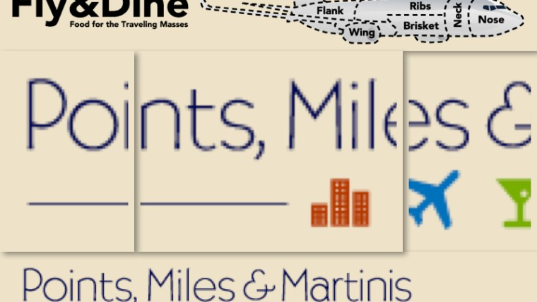 fly&Dine Points Miles Martinis