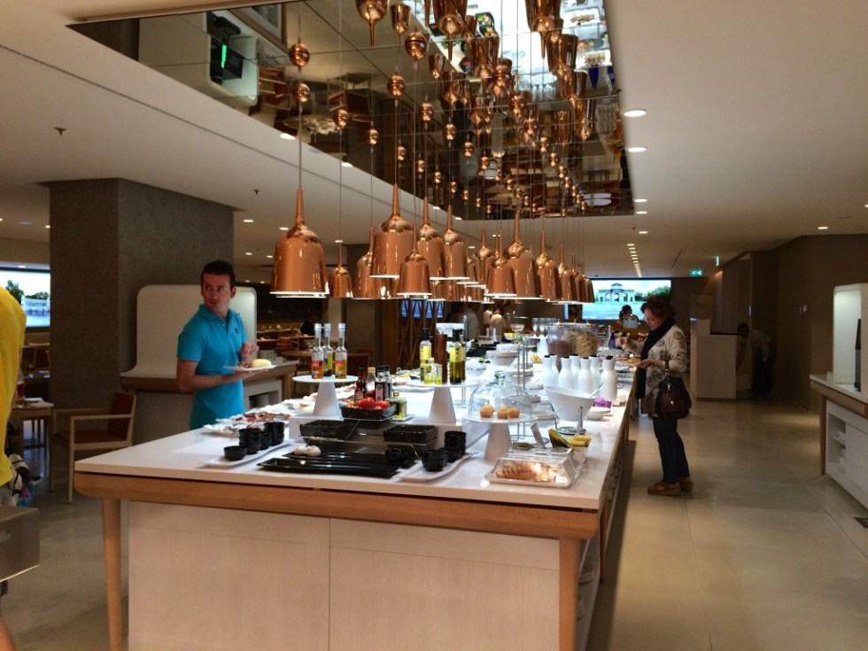 Buffet Review Nh Collection Eurobuilding Hotel Madrid