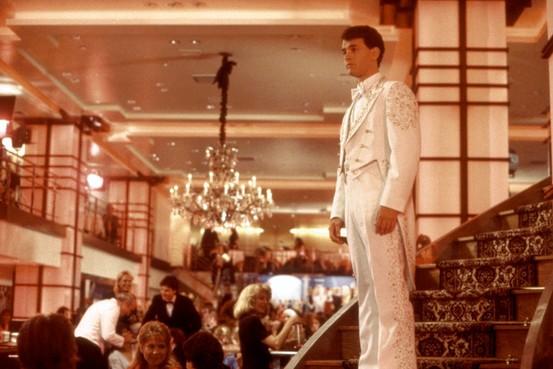 Fancy White Tuxedo