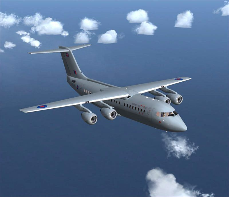 Fsx Wallpaper Hd Raf Bae 146 200 For Fsx
