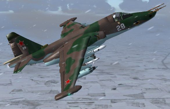 Sukhoi Su2539 Frogfoot Multi Livery Pac for FSX