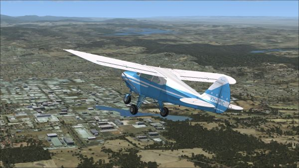 Piper Tri Pacer Vh Pic Fsx - Year of Clean Water