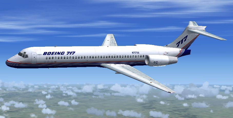 Jet City Aircraft Boeing 717 200 For Fsx