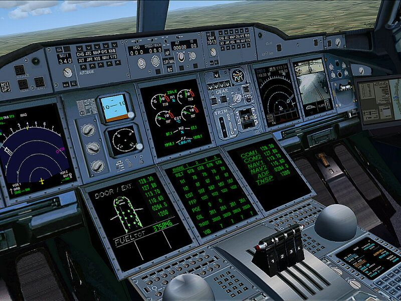 A380 Wallpaper Hd Air France Airbus A380 V2 Demo For Fsx