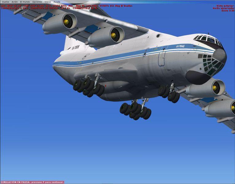 Il 76 Fsx