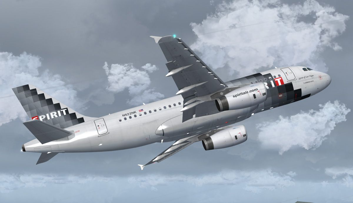 Spirit Airlines Airbus A319132 for FSX
