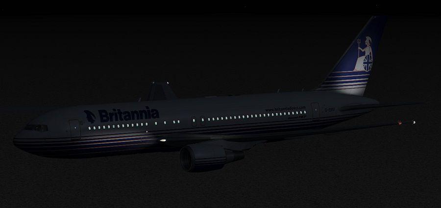 Britannia Airways Boeing 767204ER for FSX