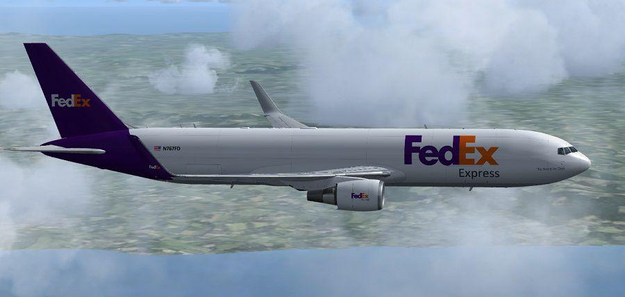 FedEx Boeing 767300FER for FSX