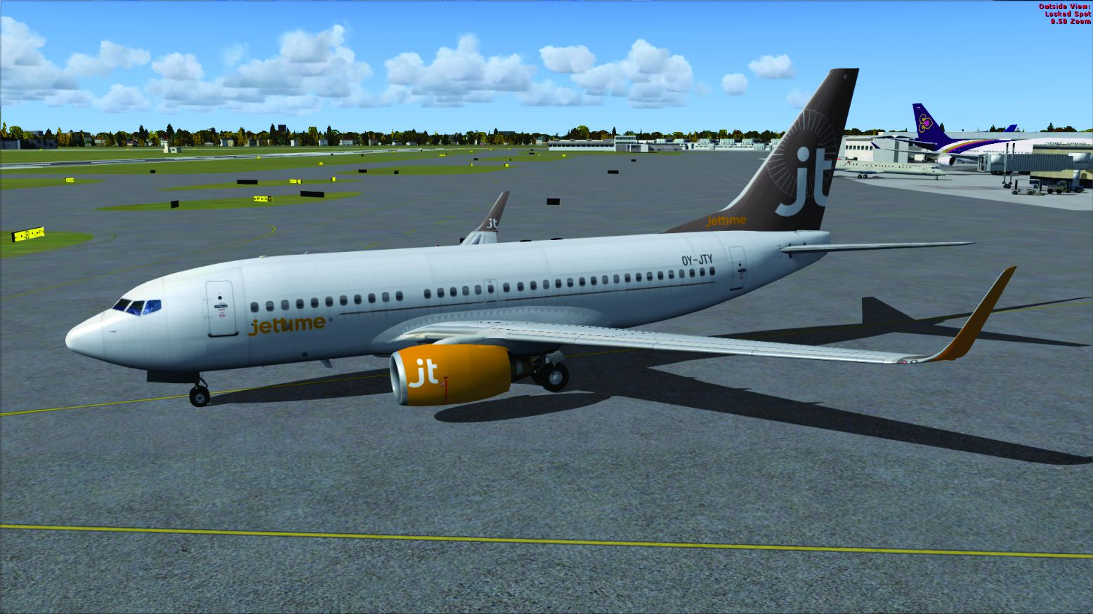 Jet Time Boeing 737-700 OY-JTY for FSX
