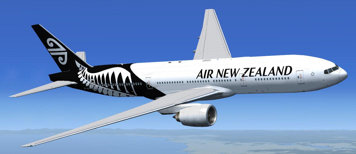 Air New Zealand Boeing 777200ER ZKOKC for FSX