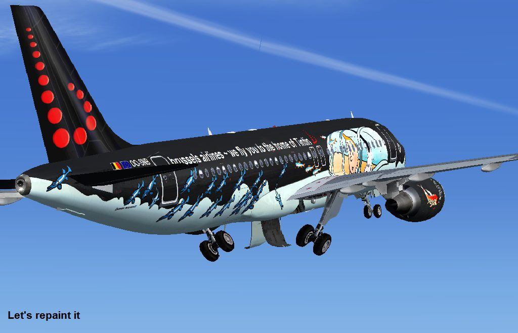 Brussels Airlines Airbus A320 OOSNB for FSX