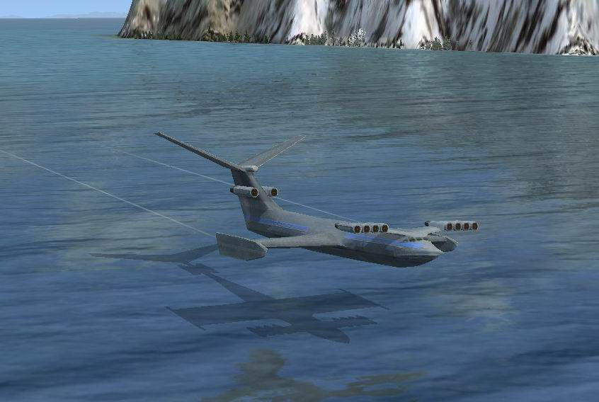 Caspian Sea Monster for FSX